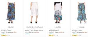 Palazzo & Skirts