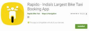 Rapido App Referral Code