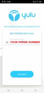 yulu Sign Up Process