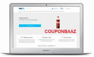 Paytm Coke Redeem Page