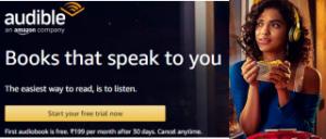 Amazon Audible FREE Trial6