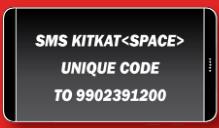 KITKAT SMS 9 Digit Codes