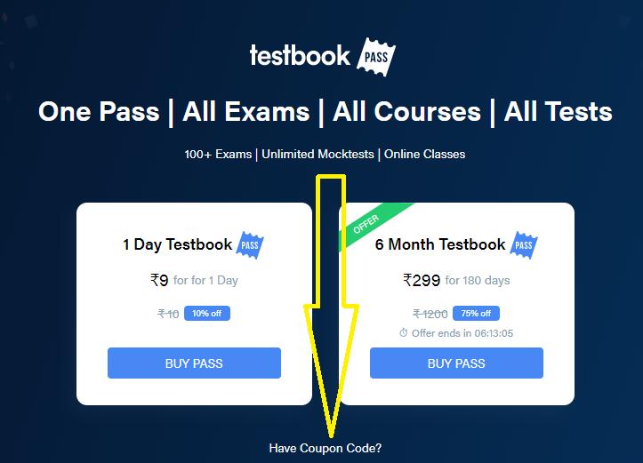 Testbook 1daypass
