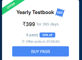 Testbook Yearly Pass