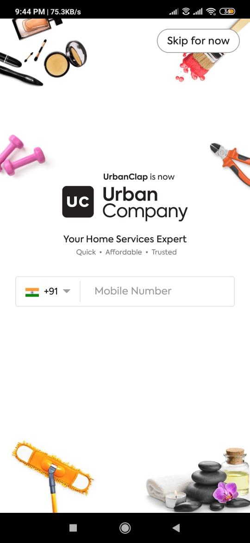 UrbanClap Company Referral