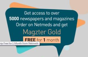Magzter Gold Membership